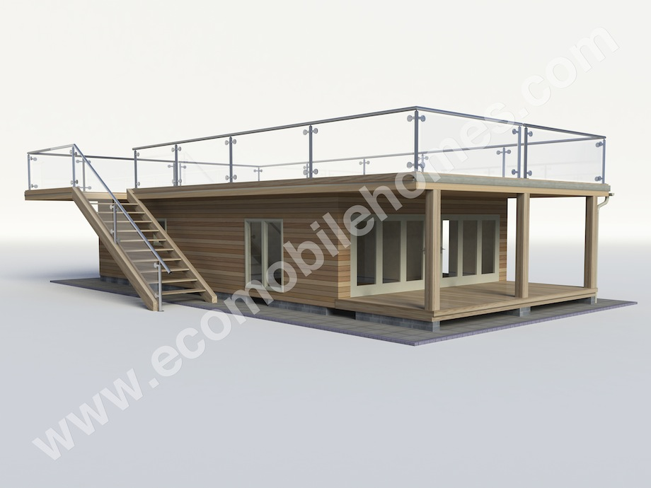List of Synonyms and Antonyms of the Word: mobile home roof deck
