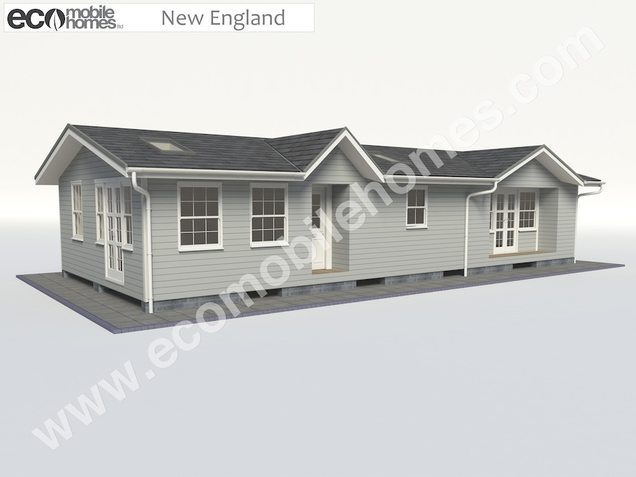 New England Style Eco Mobile Homes