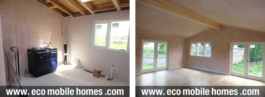 Mobile-Home-LogCabin-Specification-Plaster