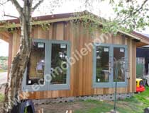 Cedar Clad 35x20FT Schoolroom Mobile Home