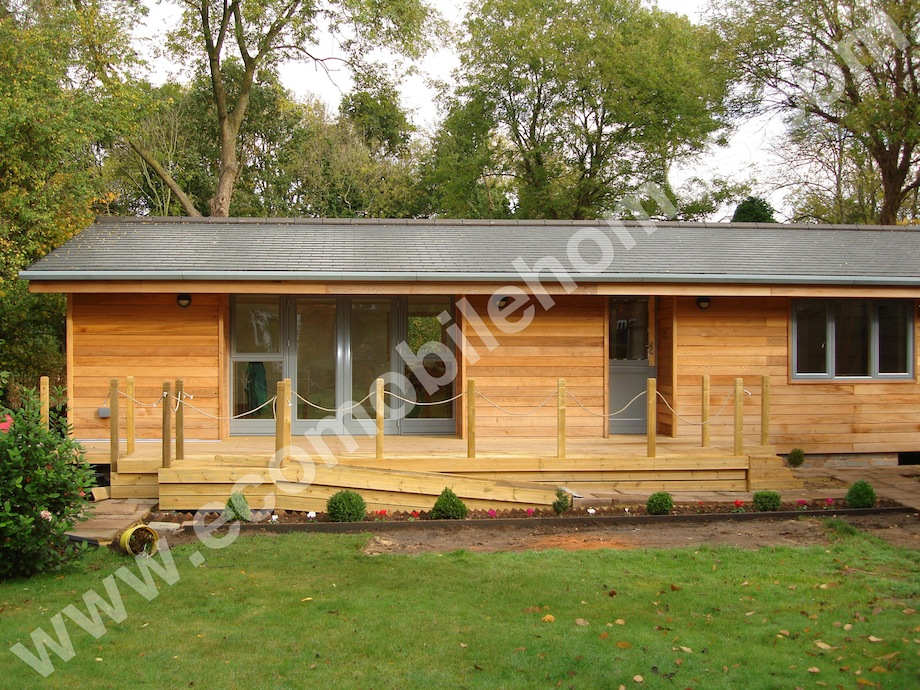 22 X 45ft New Lodge Twin Unit Mobile Home Eco Homes