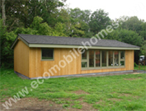 20x40ft New Lodge with Timber Windows