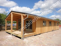 20 x 40ft New Lodge with Integrated Veranda