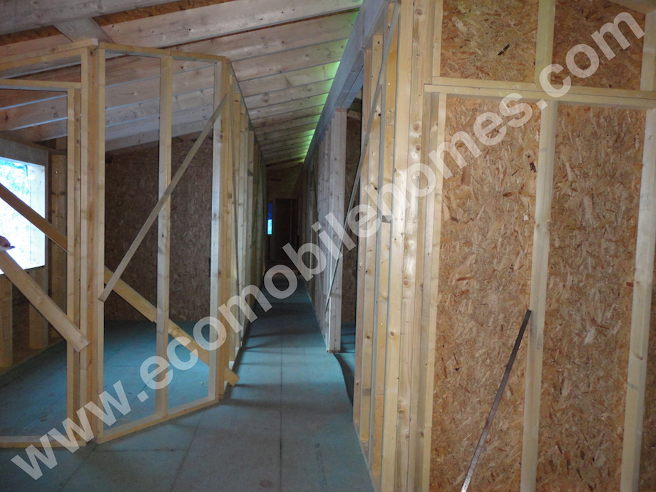 Interior Log Cabin Mobile Home Frames