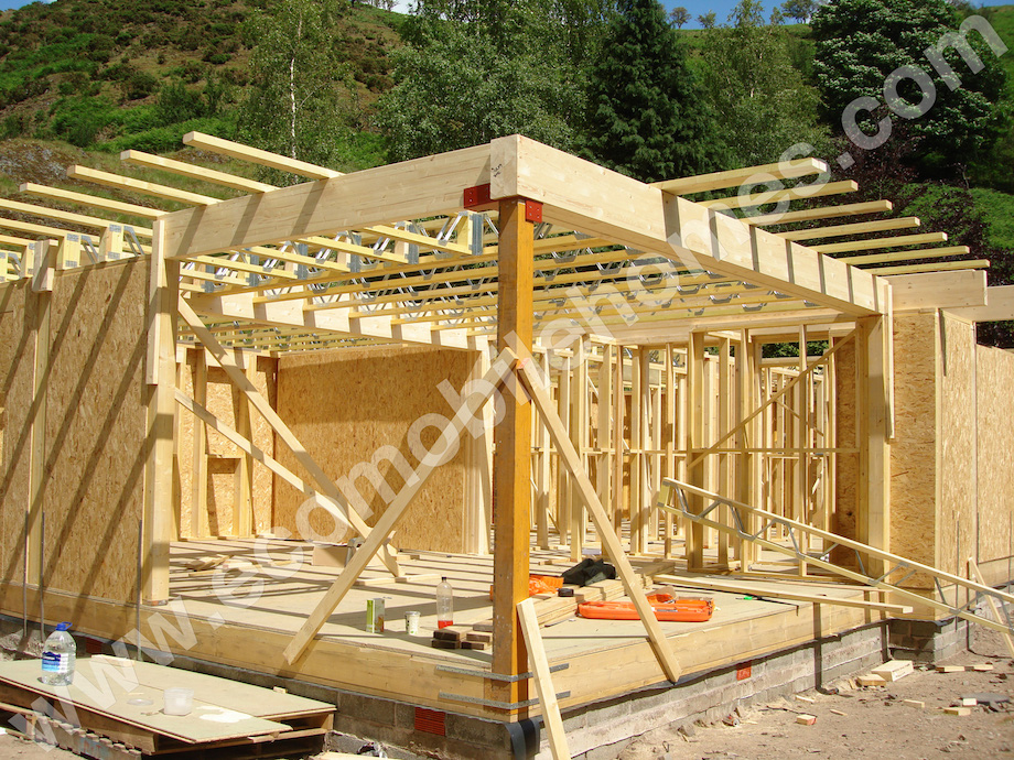 Flat Roof Mobile Home Frame