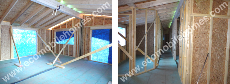 Open Panel Timber Frame Walls
